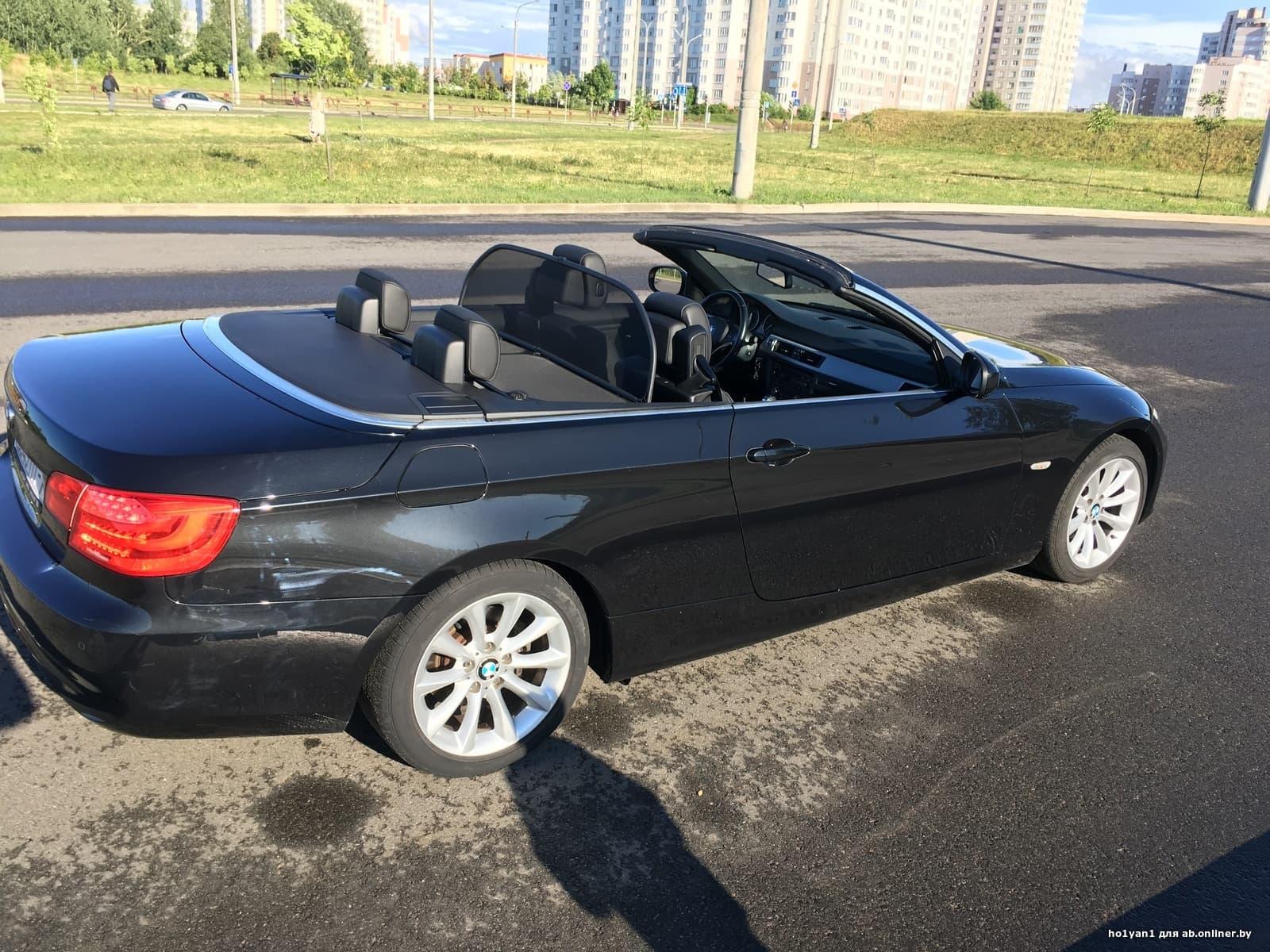 BMW 320 E93, Cabrio