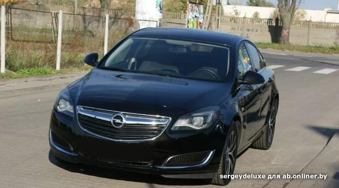 Opel Insignia заводской газ