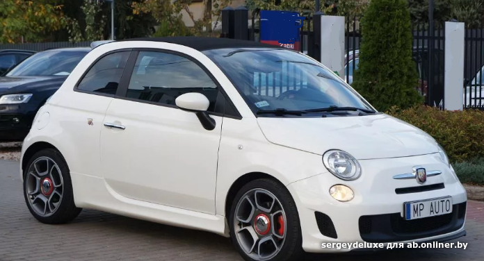 Fiat 500 С Abarth