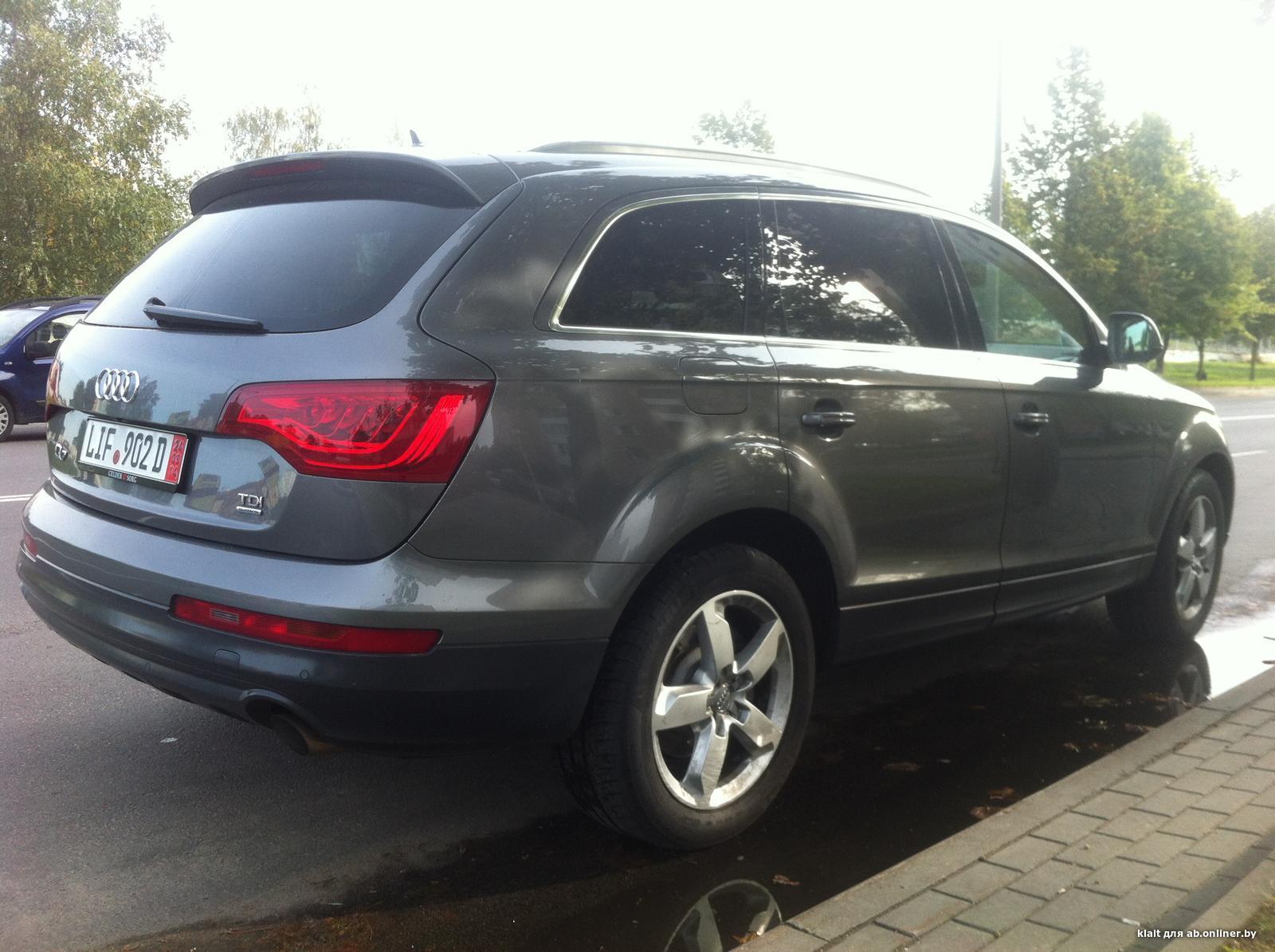 Audi Q7 Clean diesel