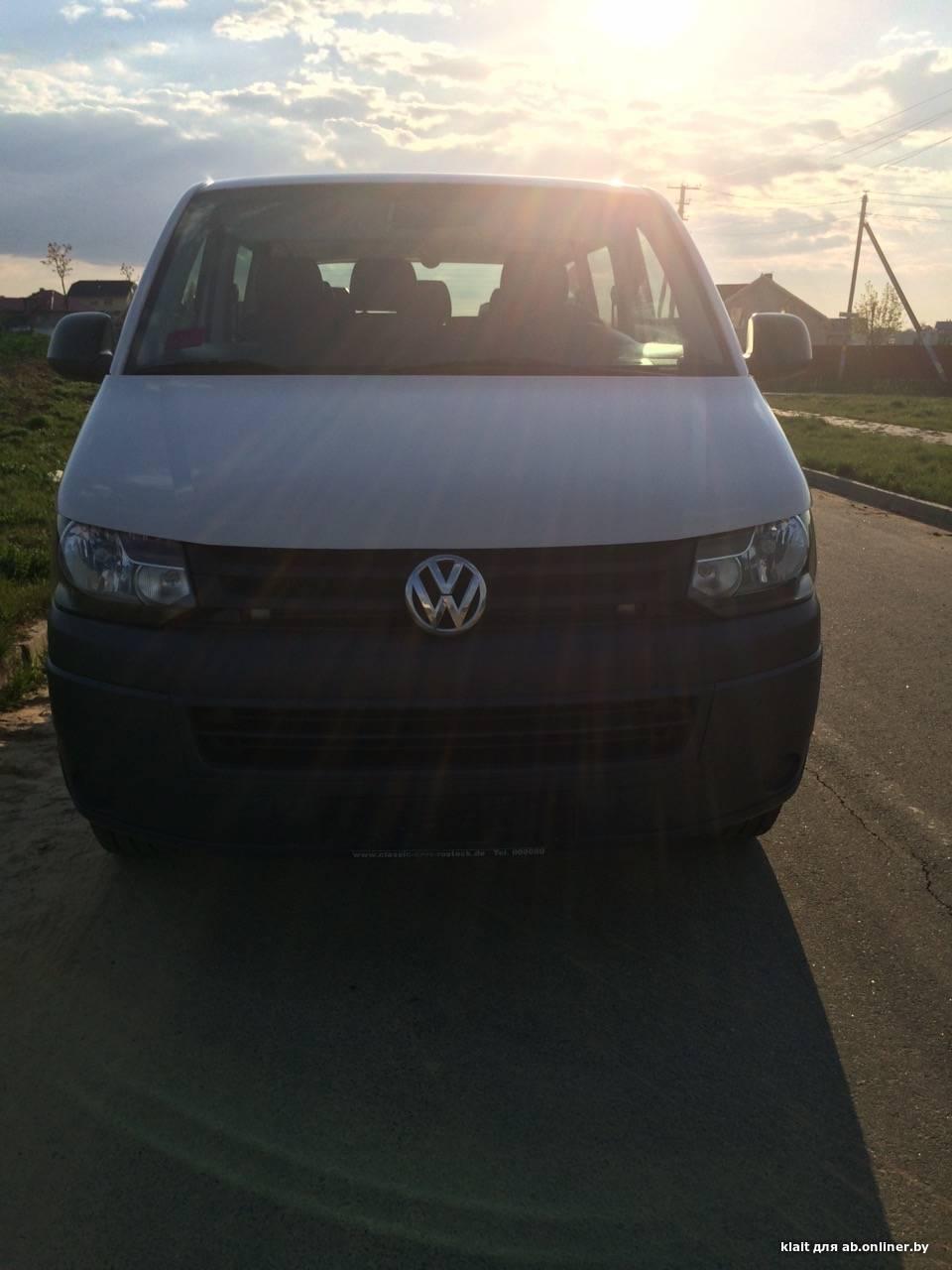 Volkswagen T5 140 л.с.