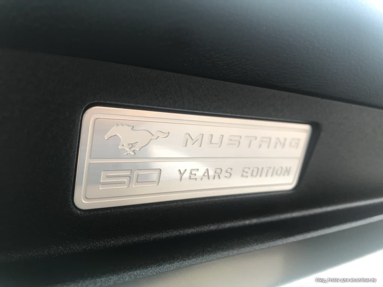 Ford Mustang 50 Years Anniversary Package