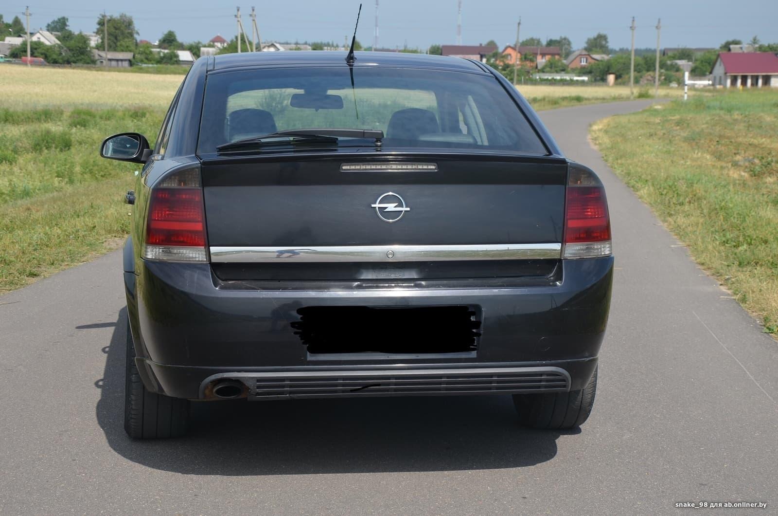 Opel Vectra C (GTS)