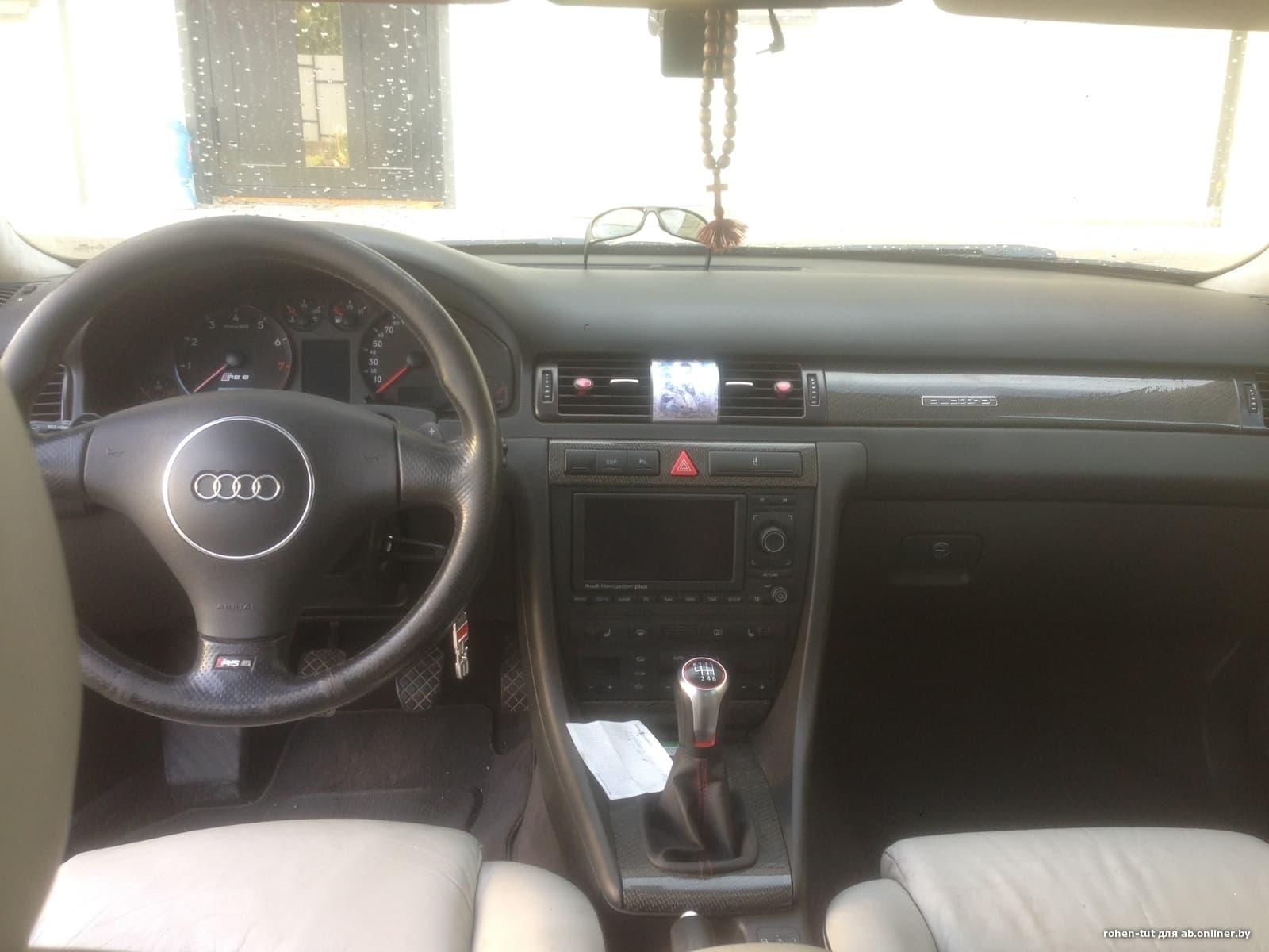 Audi RS6 580 л.с 6-МКПП