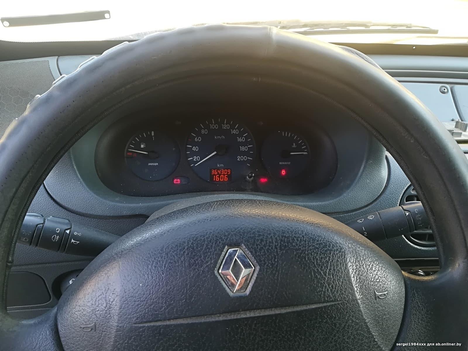 Renault Kangoo F8Q