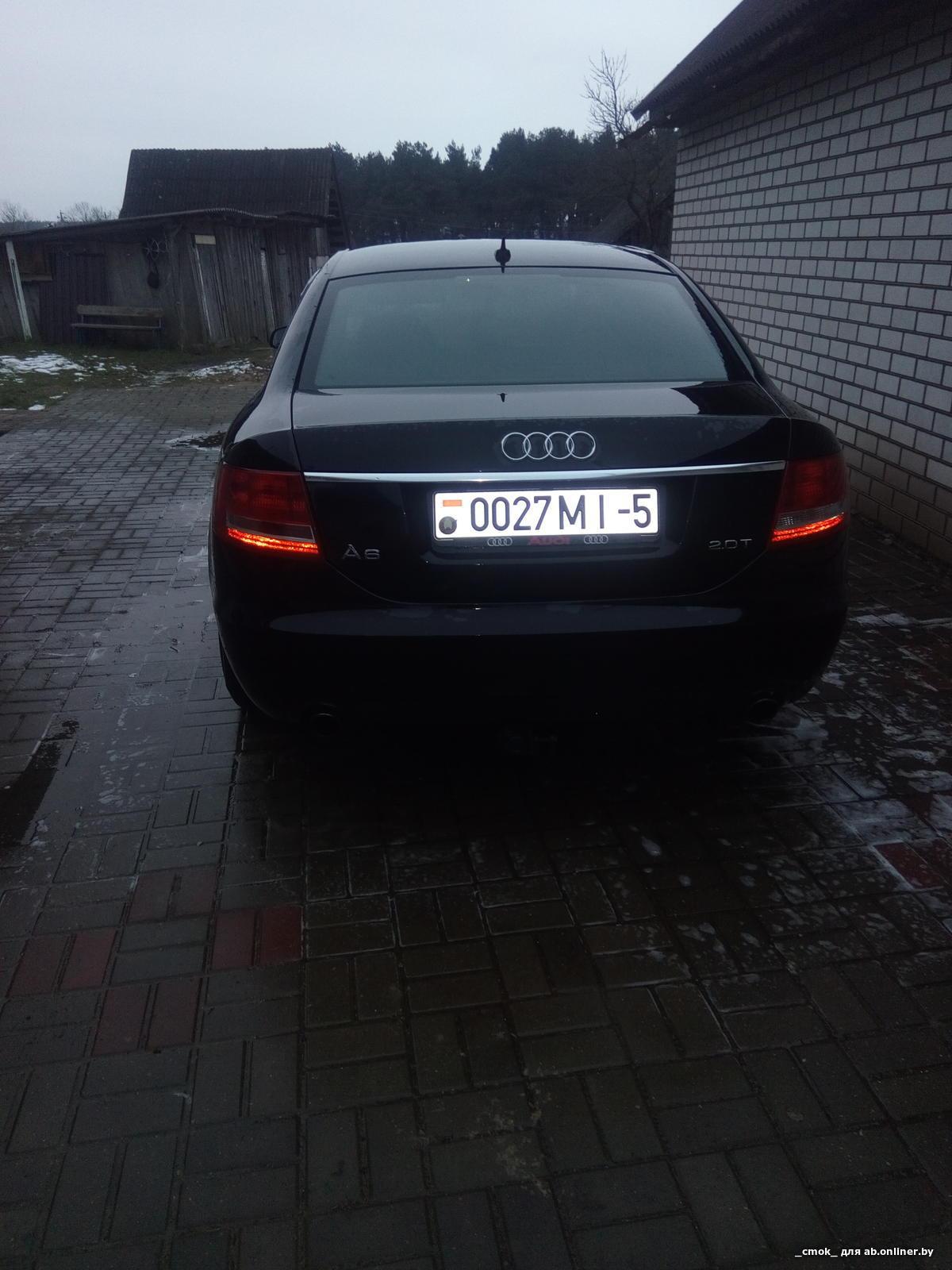 Audi A6 (C6) 2.0 TFSI 177 л.с