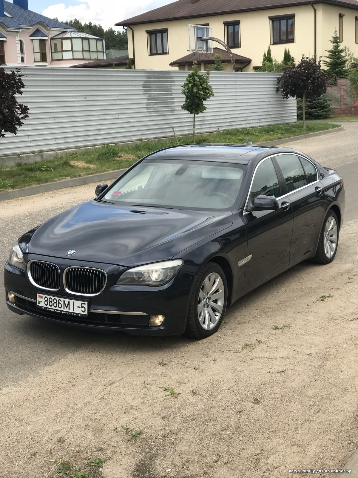 BMW 750 F01 4,4 TwinTurbo