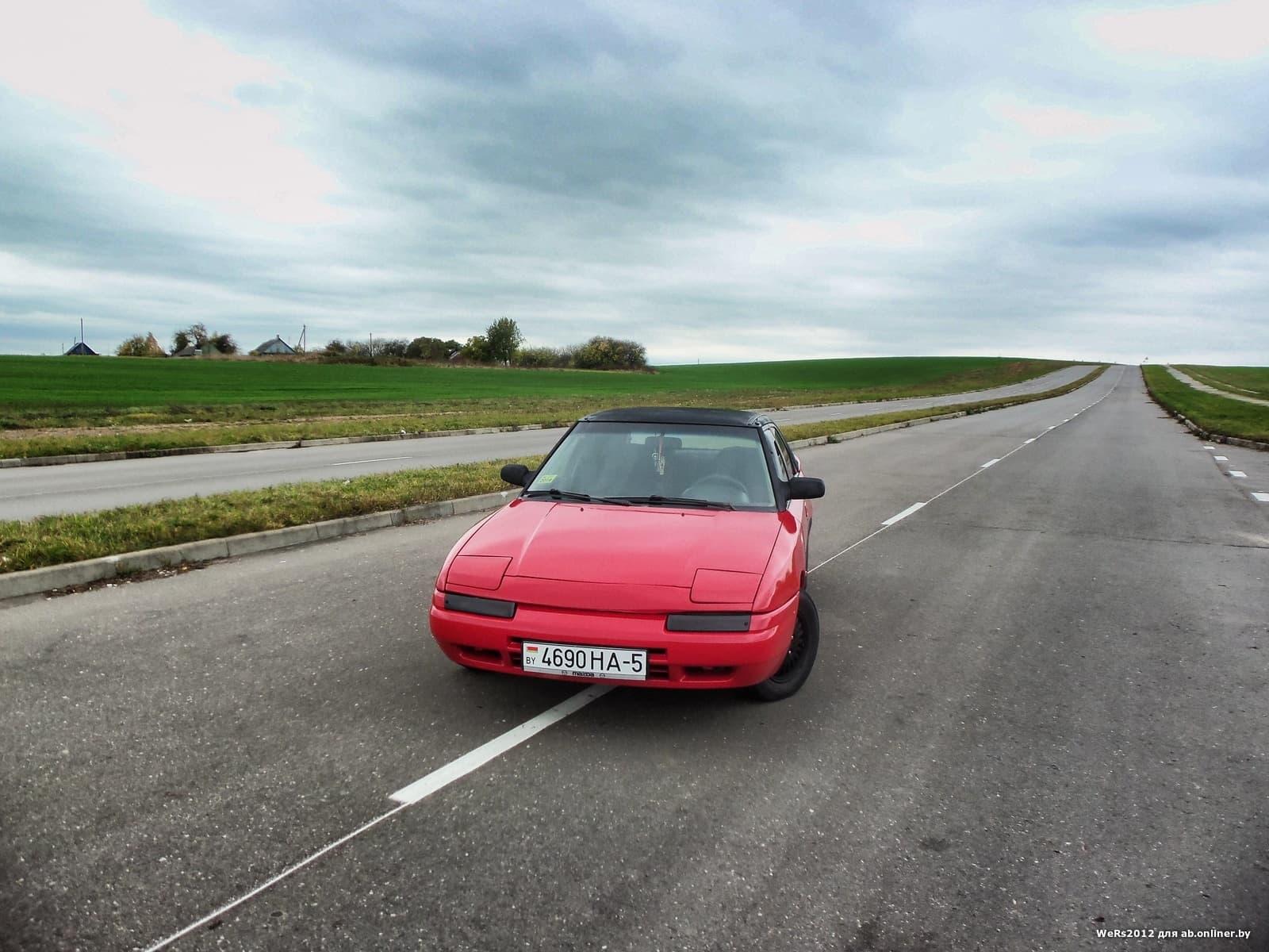 Mazda 323 F Громкий фронт