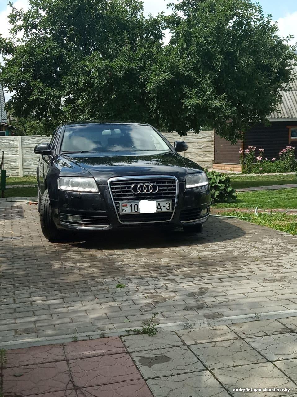 Audi A6 restyling