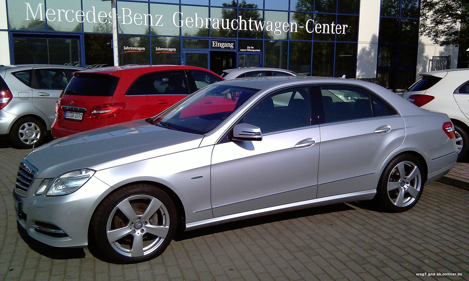 Mercedes E350 CDI 4M Avantgarde