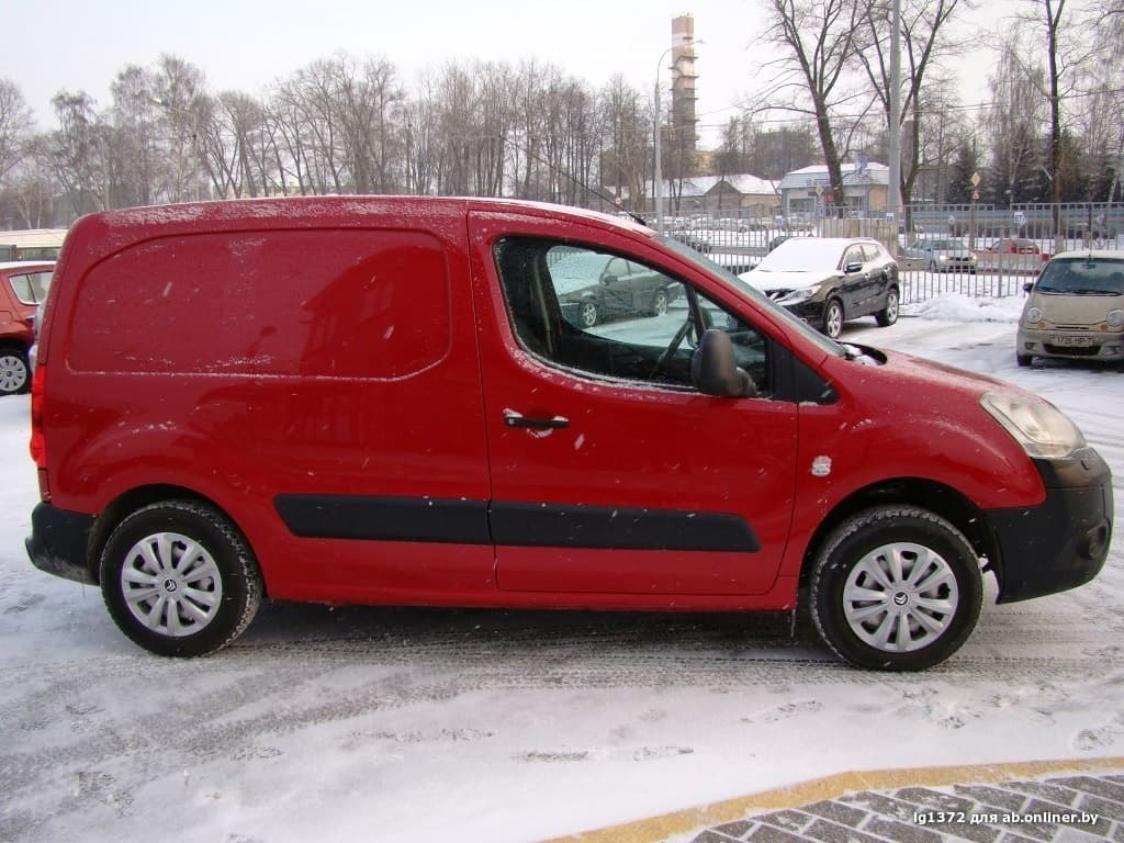 Citroen Berlingo Изотерм