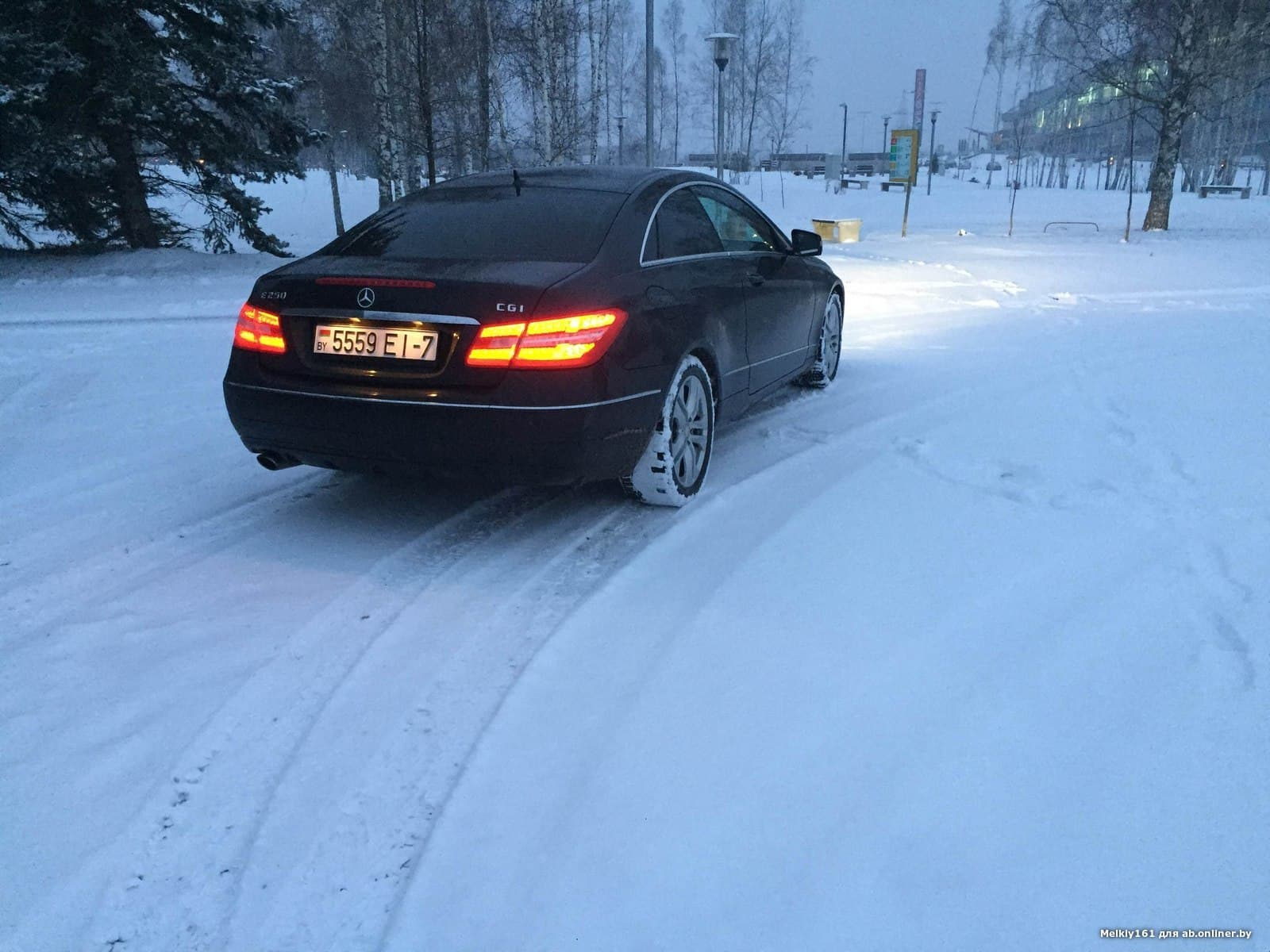 Mercedes E250 C207