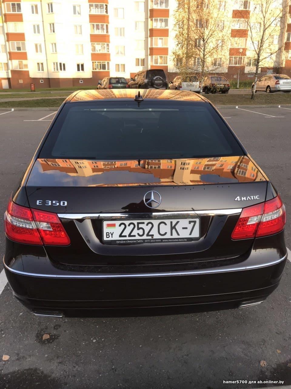Mercedes-Benz E350 212
