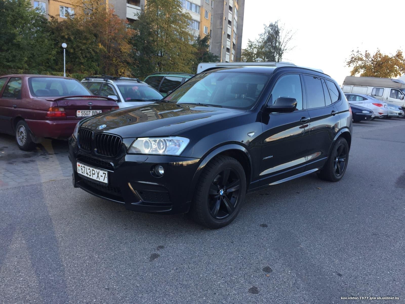 BMW X3 Ф25