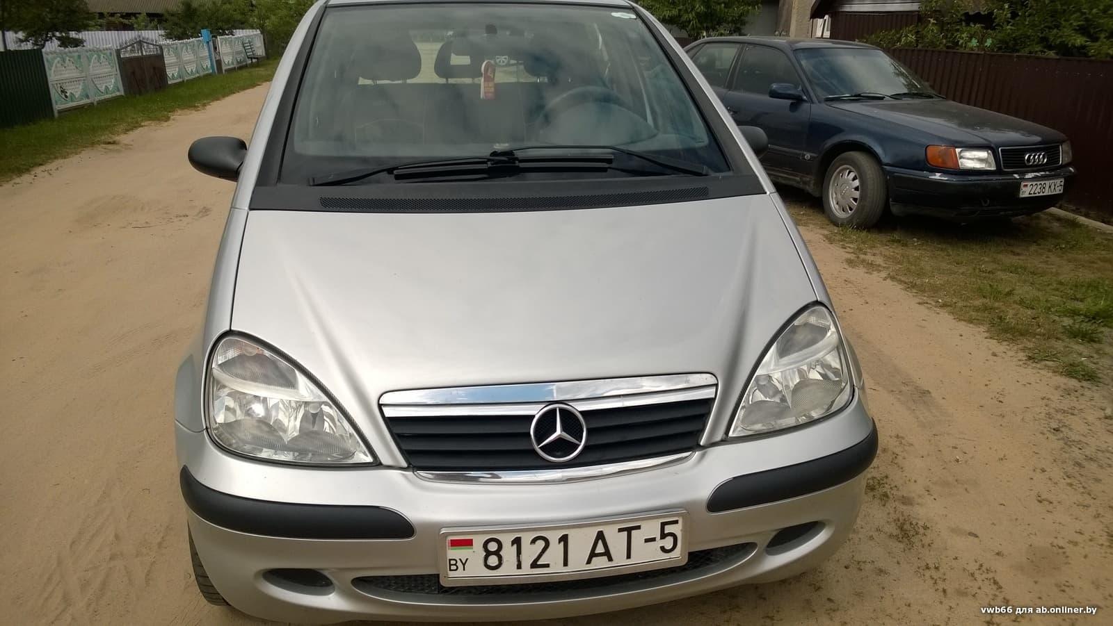 Mercedes A140 w168