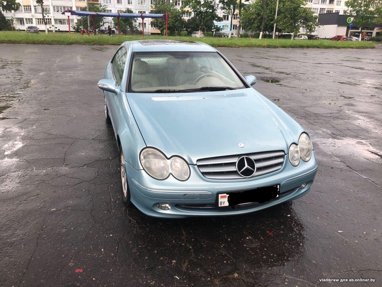 Mercedes-Benz CLK240