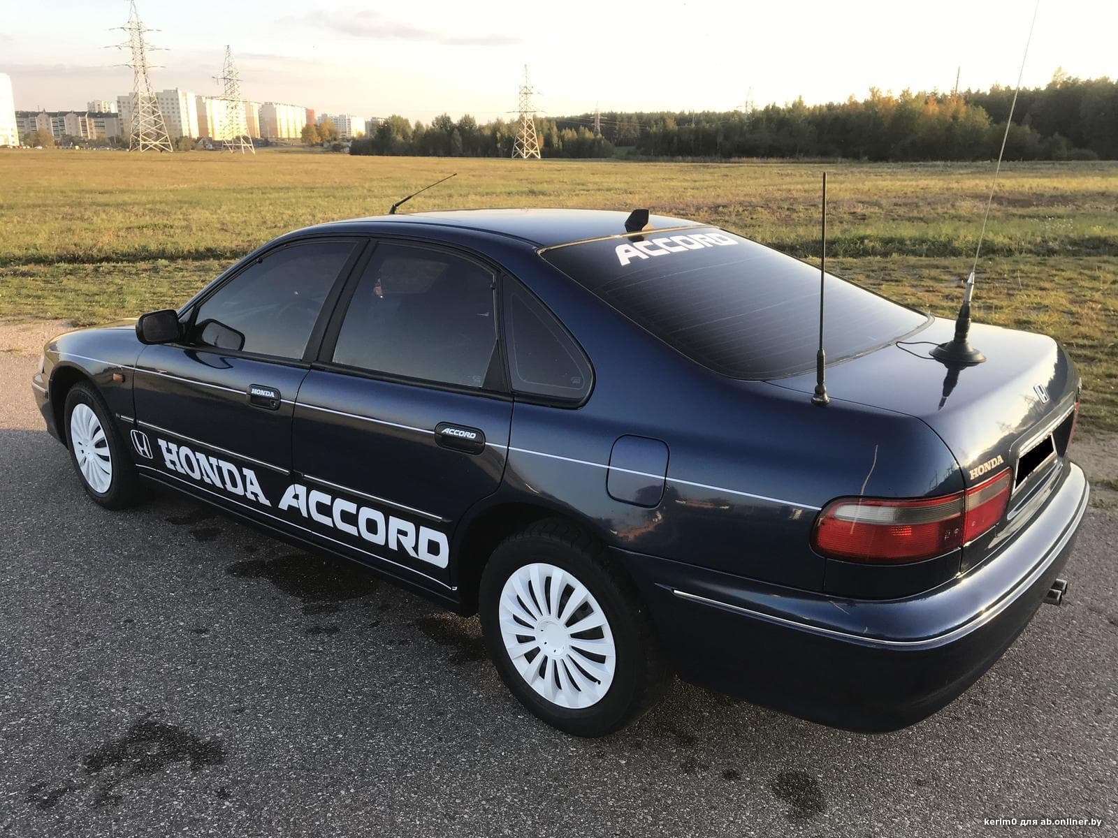 Honda Accord рестайлинг