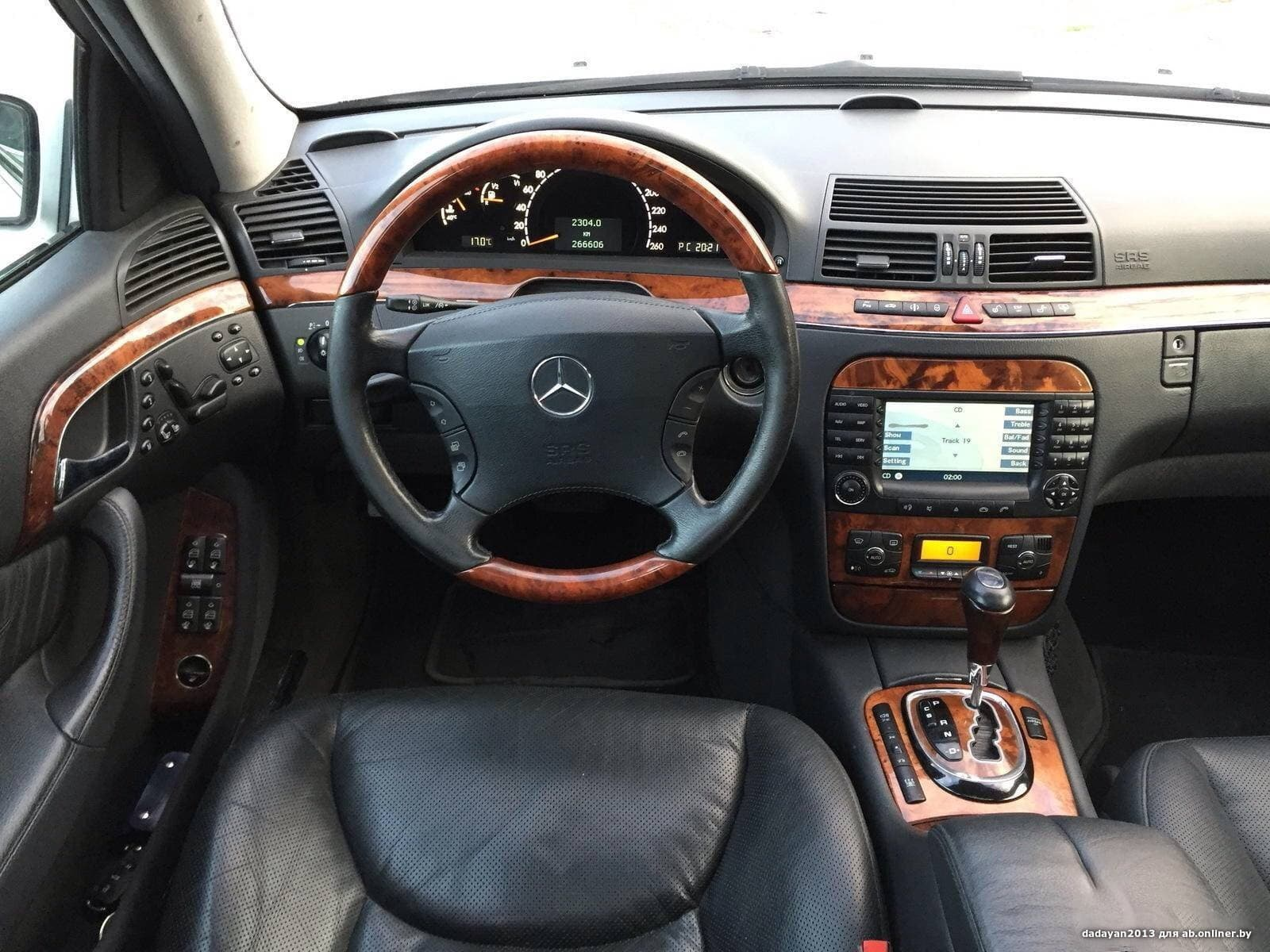 Mercedes S500 4matic (полная комп