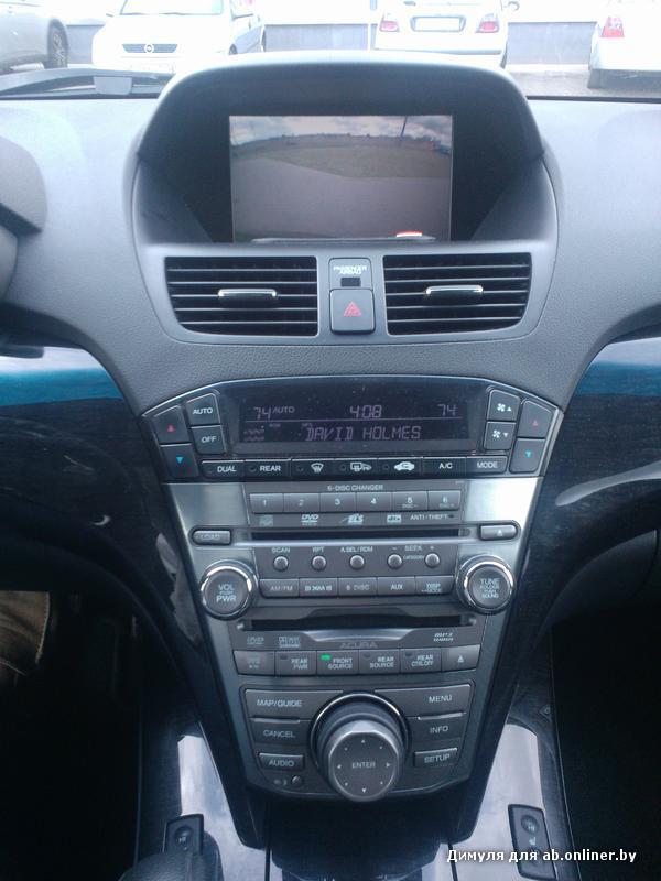 Acura MDX Sport-Entertainment