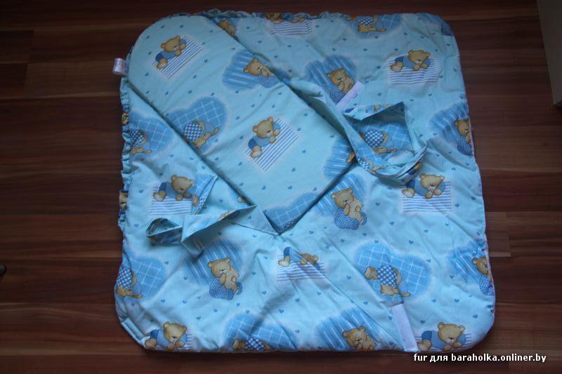 Конверт одеяло в коляску