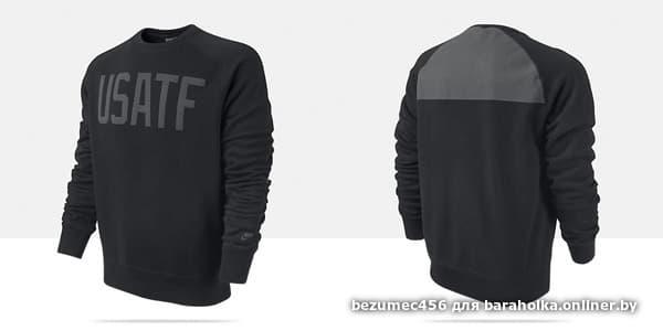 3bedaa3e Толстовка(свитшот) Nike Usatf - Барахолка onliner.by