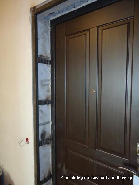 железная дверь на большой проем