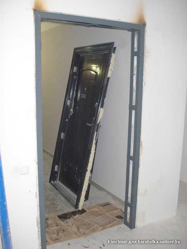 установка входную металлическую дверь