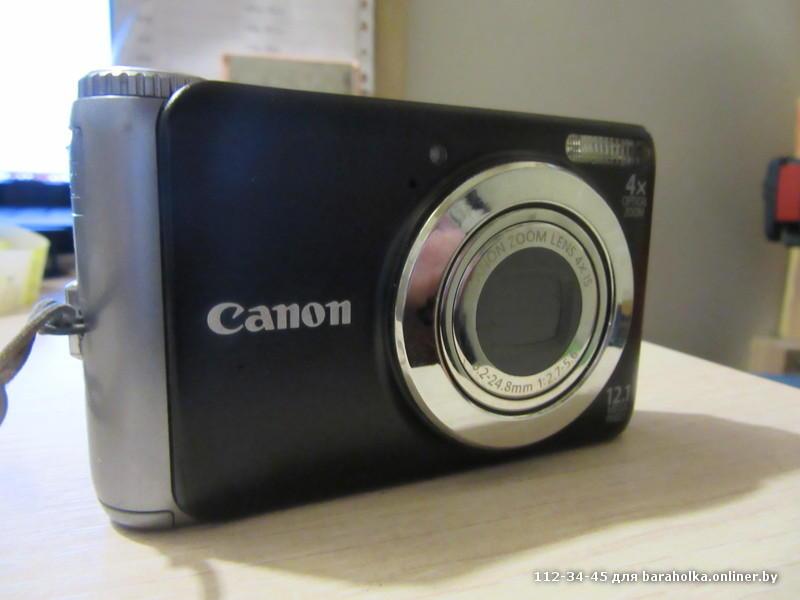 фотоаппарат кэнон замените батарею отличие