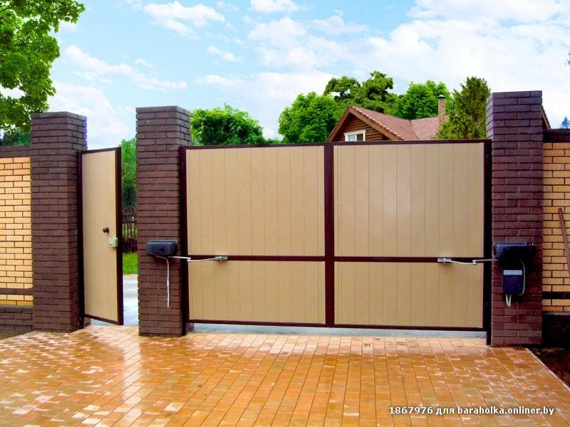 Автоматические распашные ворота в твери заказать пп ворота тюмень