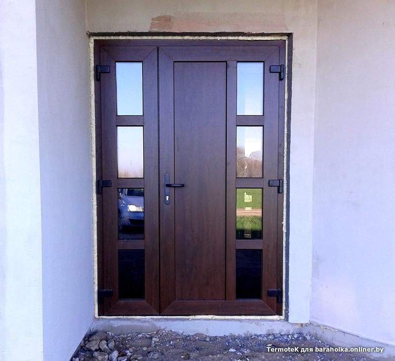 цена на входные двери в частный дом