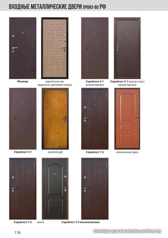 металлические двери от ведущих производителей