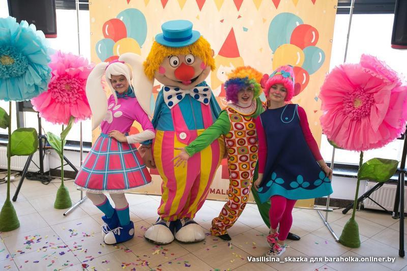 Роза барбоскина на детский праздник аниматоры в детский сад Улица Авиаторов