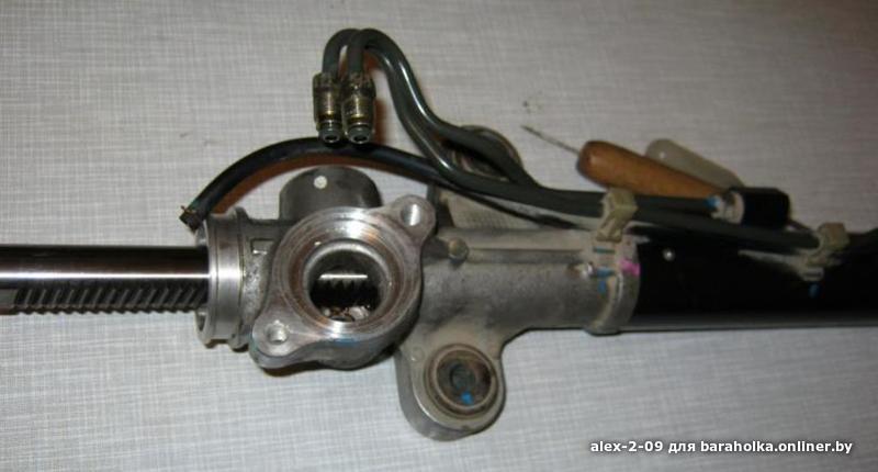 ремонт рулевой колонки мерседес бенц 210d 1989