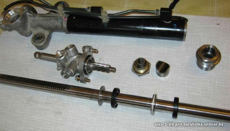 реставрация рулевой рейки на fiat fiorino 2008