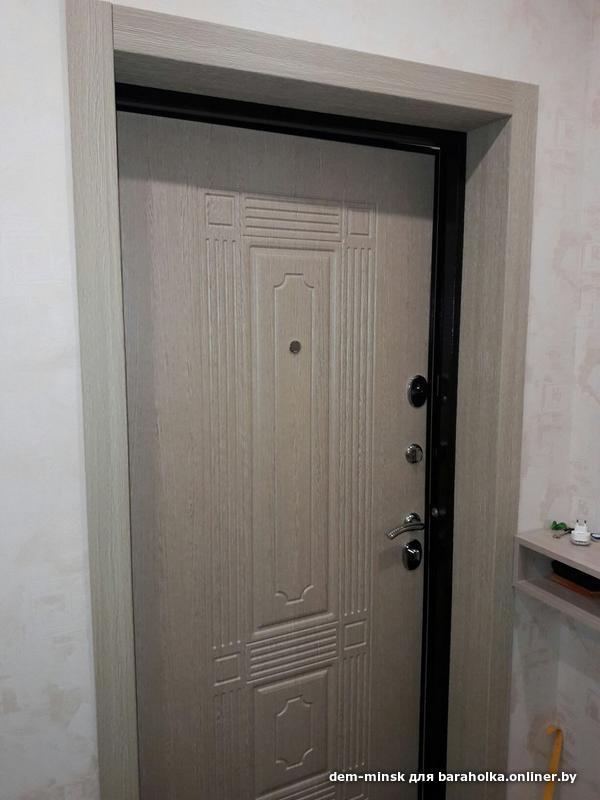 одна входная дверь отделка