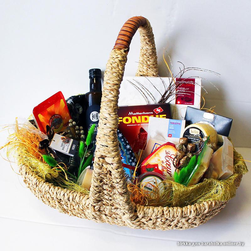 плетенка с продуктами