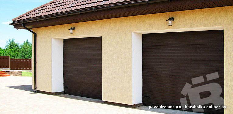 автоматические и механические гаражные ворота