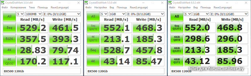 Crucial BX500 120GB CT120BX500SSD1 - Форум onliner by