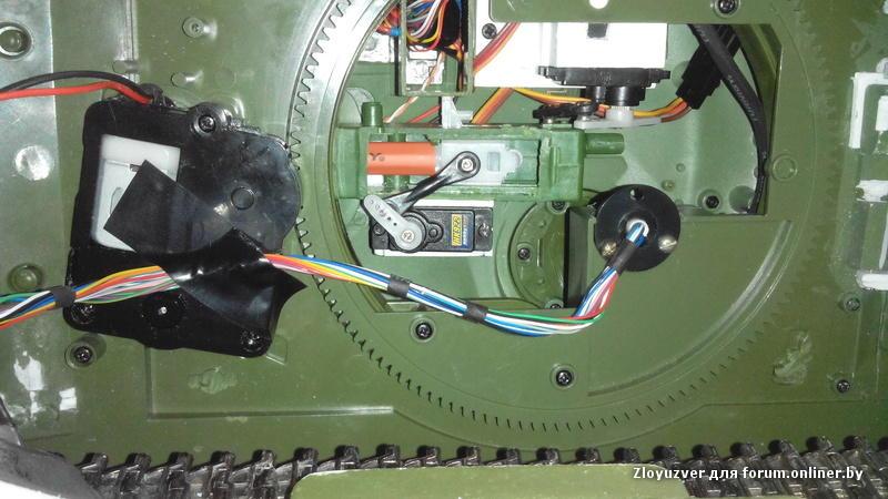 Танк Т-72 - Доработки модели