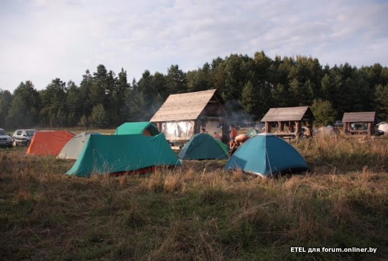 Отдых с палатками на браславских озерах