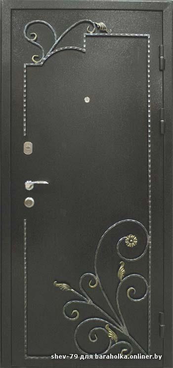 металлические узоры на дверь