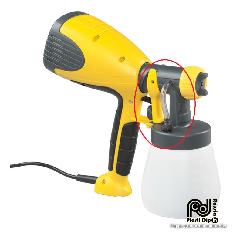 Какои пульвизатор лучше использовать для покраски жидкои резинои