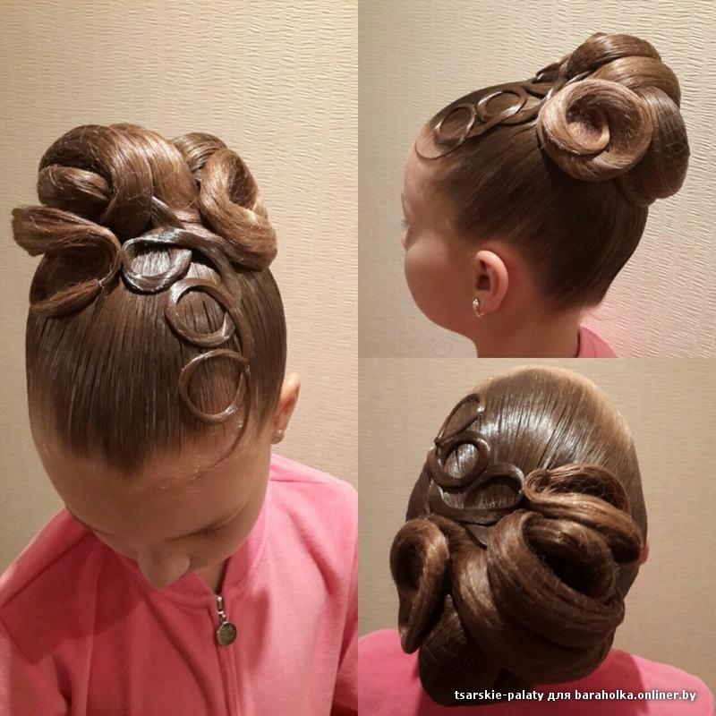 Причёски для маленьких девочек на короткие волосы: 35