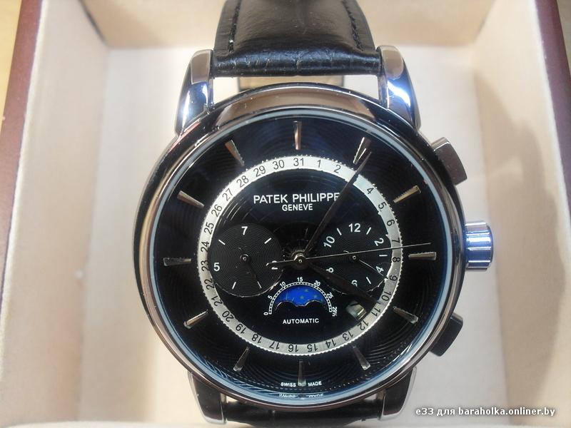 Мужские часы Patek Philippe - купить в магазине копий часов