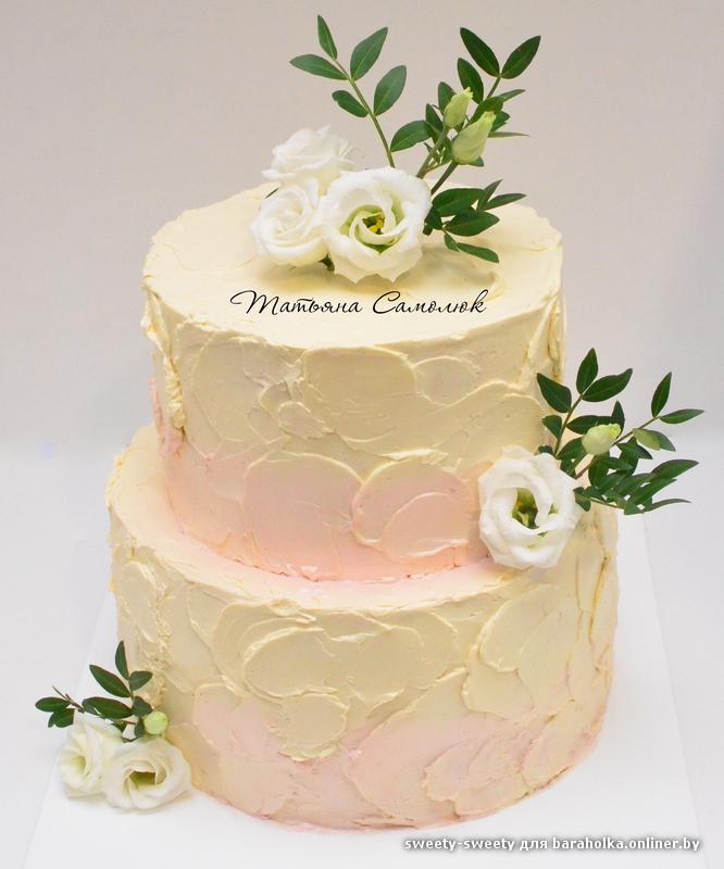 Свадебные торты фото цены минск