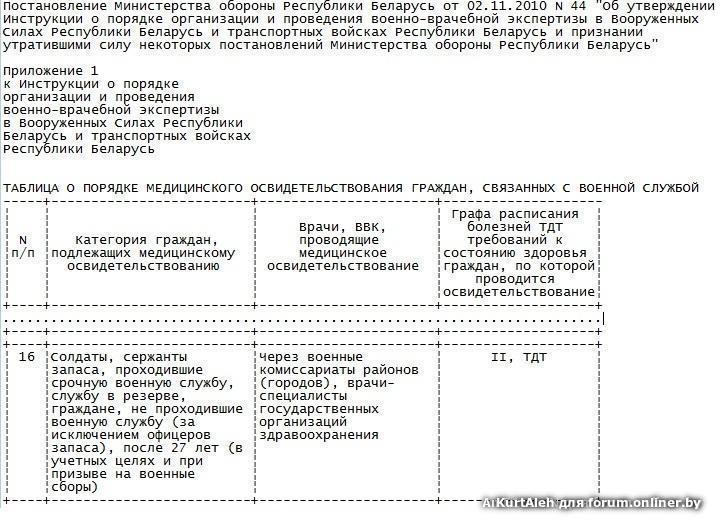 Военно-врачебная комиссия образовательного учреждения минюста россии.