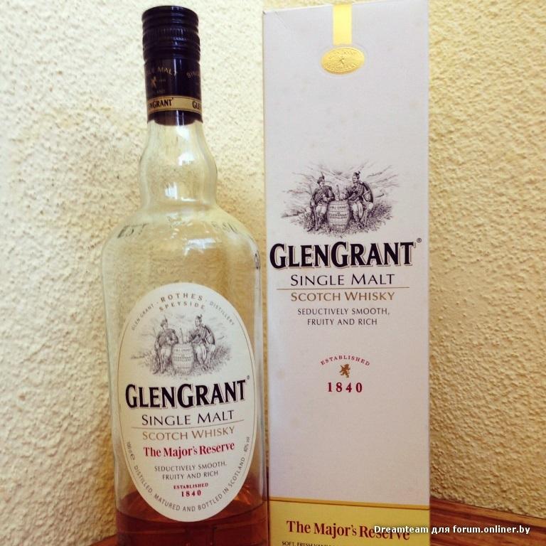 Виски Glen GrantЖенские радости