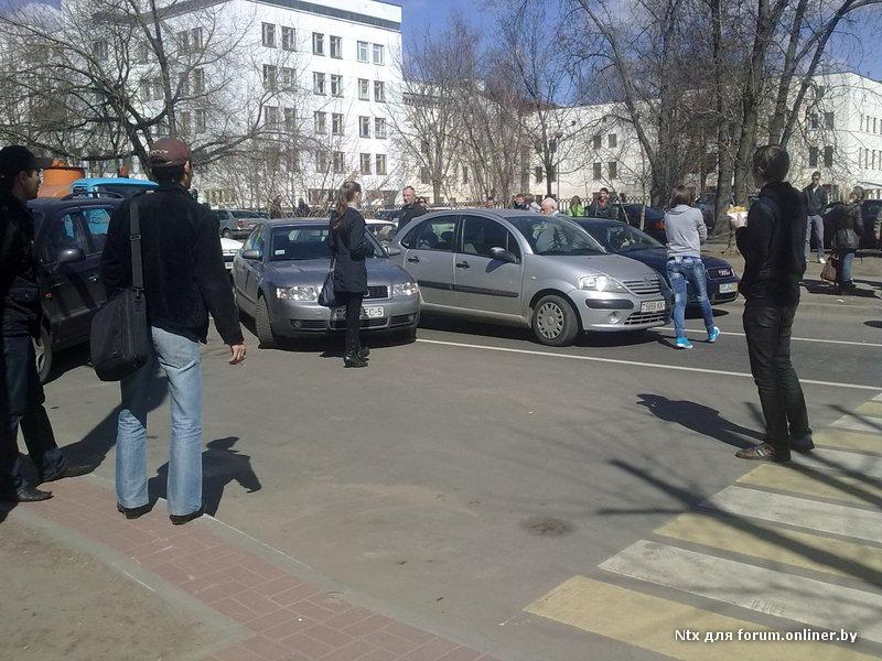ДТП Минск (ФОТО). Информация Госавтоинспекции. Сводка за 14 апреля 2011