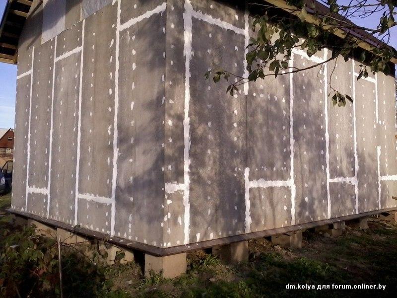прославился как обшить дом гладким плоским шифером фото максимально упростили процесс