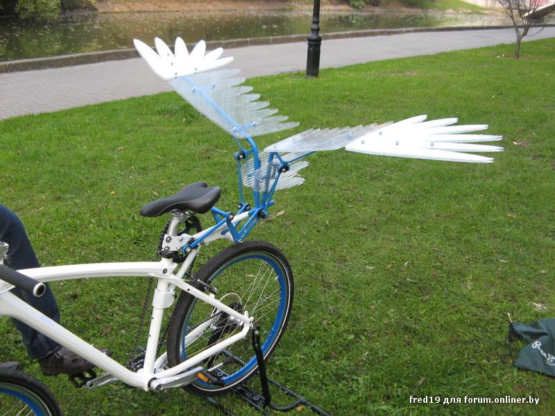 Велосипеды с крыльями картинки